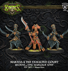 Hordes Skorne - Makeda & the Exalted Court