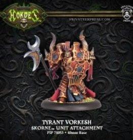 Hordes Skorne - Tyrant Vorkesh