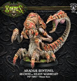 Hordes Skorne - Aradus Sentinel/Soldier kit