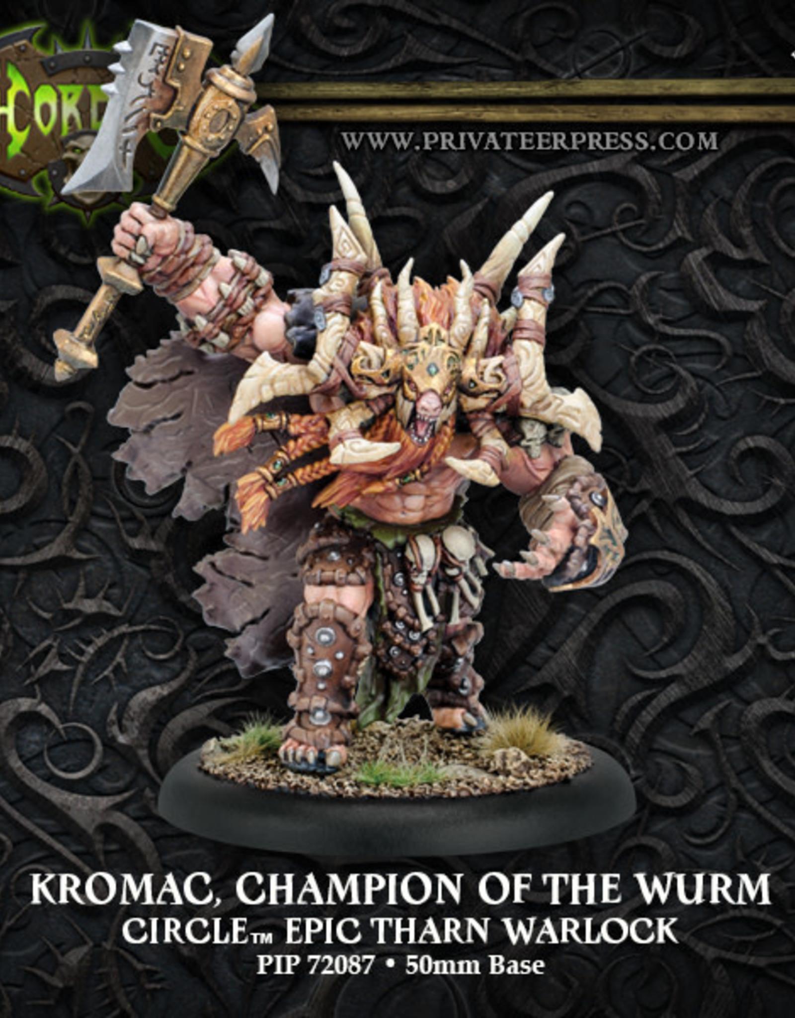Hordes Circle - Kromac, Champion of the Wurm