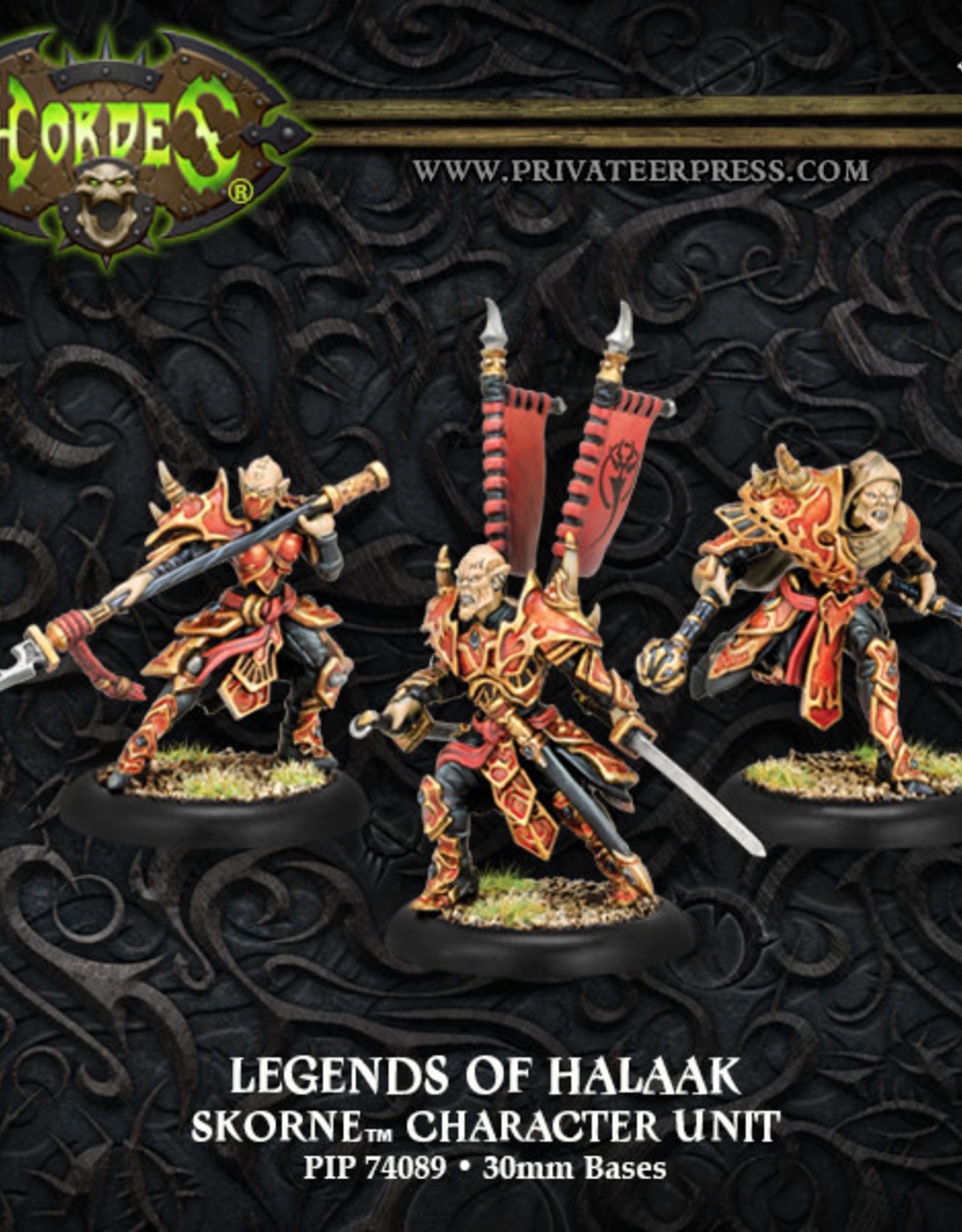 Hordes Skorne - Legends of Halaak
