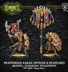 Hordes Skorne - Praetorian Karax Officer & Standard