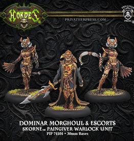 Hordes Skorne - Dominar Morghoul & Escorts