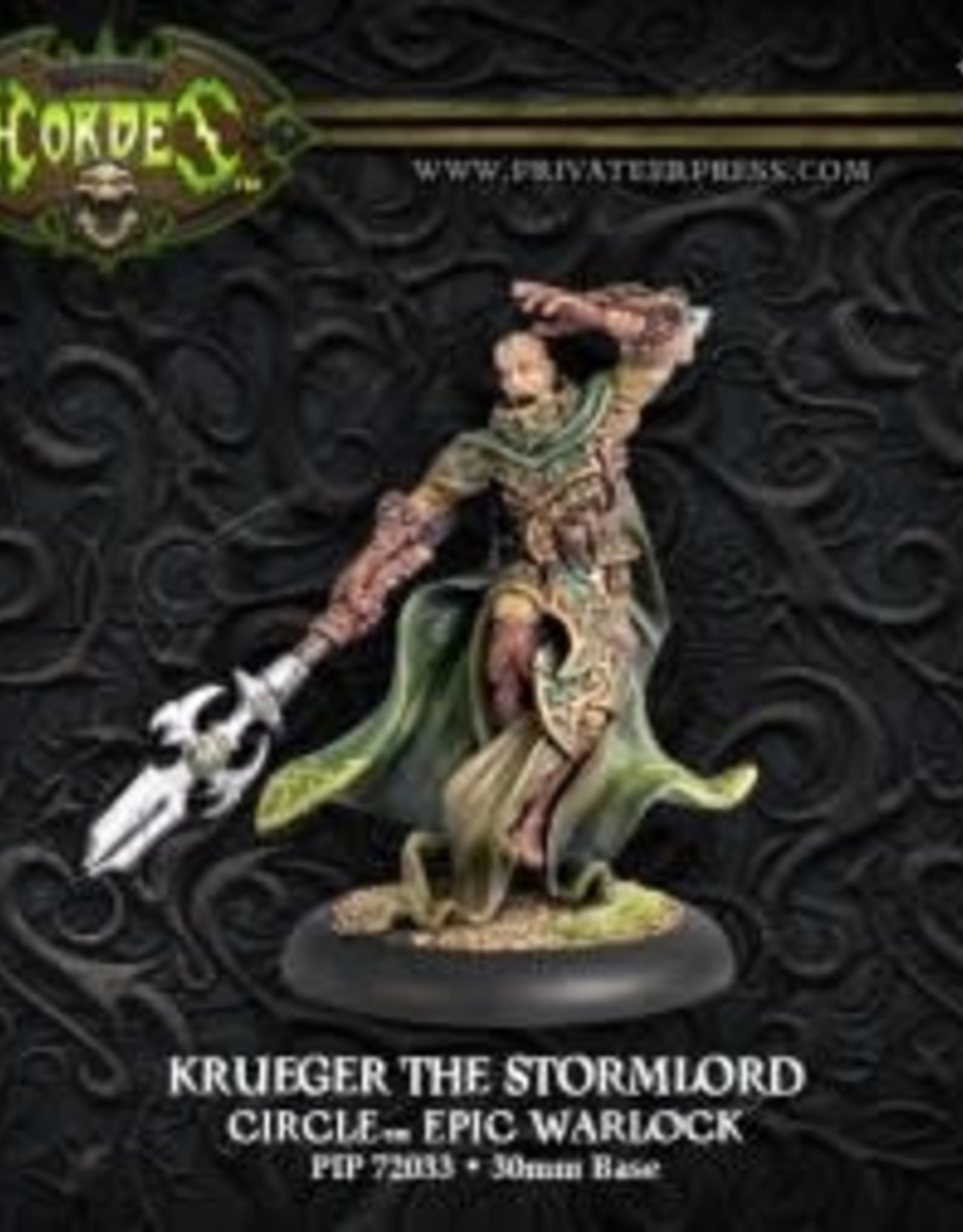 Hordes Circle - Krueger the Stormlord