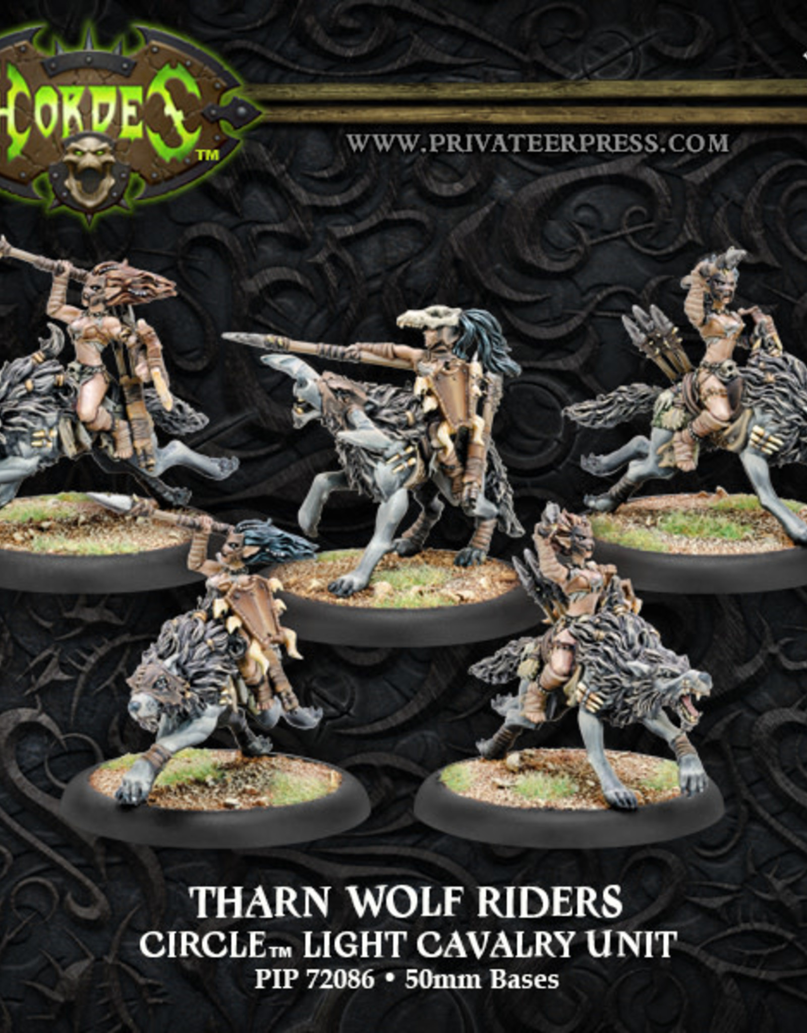 Hordes Circle - Tharn Wolf Riders
