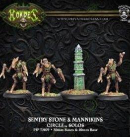 Hordes Circle - Sentry Stone & Mannikins