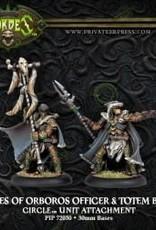 Hordes Circle - Wolves of Orobos Officer & Totem Bearer