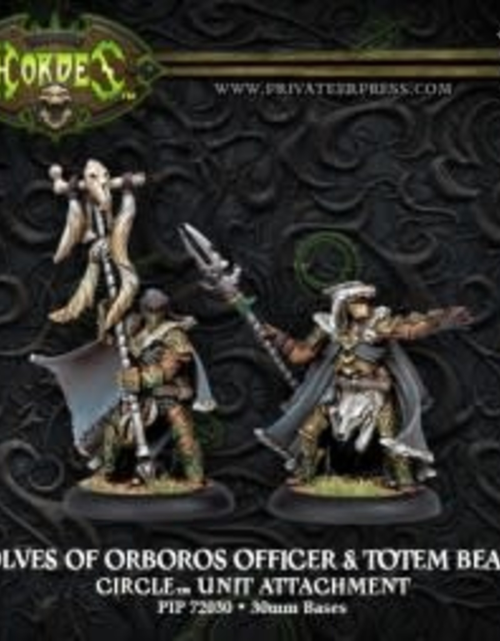 Hordes Circle - Wolves of Orobos Officer & Totem Bearer