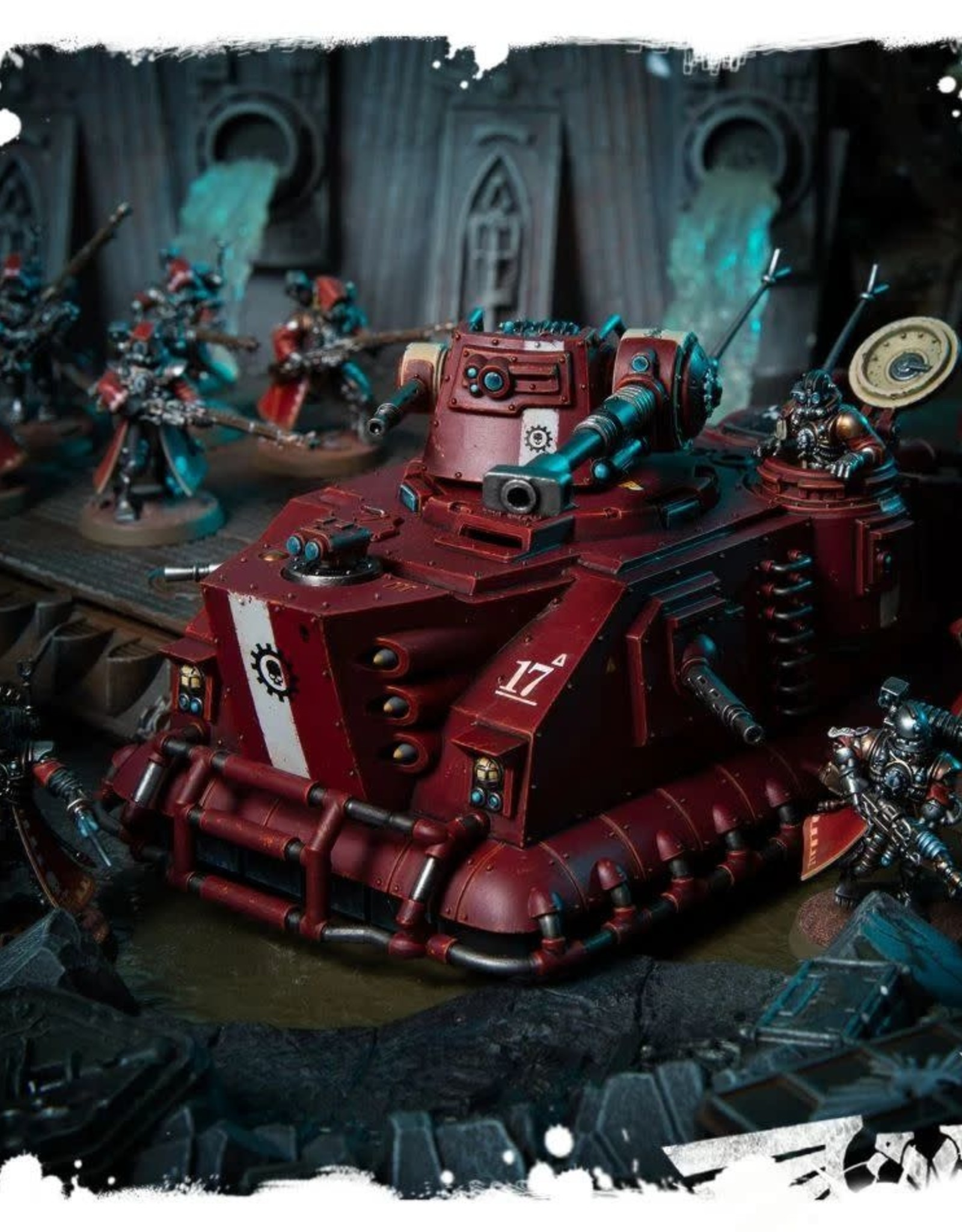 Warhammer 40k Adeptus Mechanicus - Skorpius Disintigrator/Dunerider