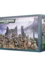 Warhammer 40k Astra Militarum - Cadian Infantry Squad
