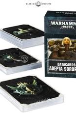 Warhammer 40k 40k - Adepta Sororitas Datacards