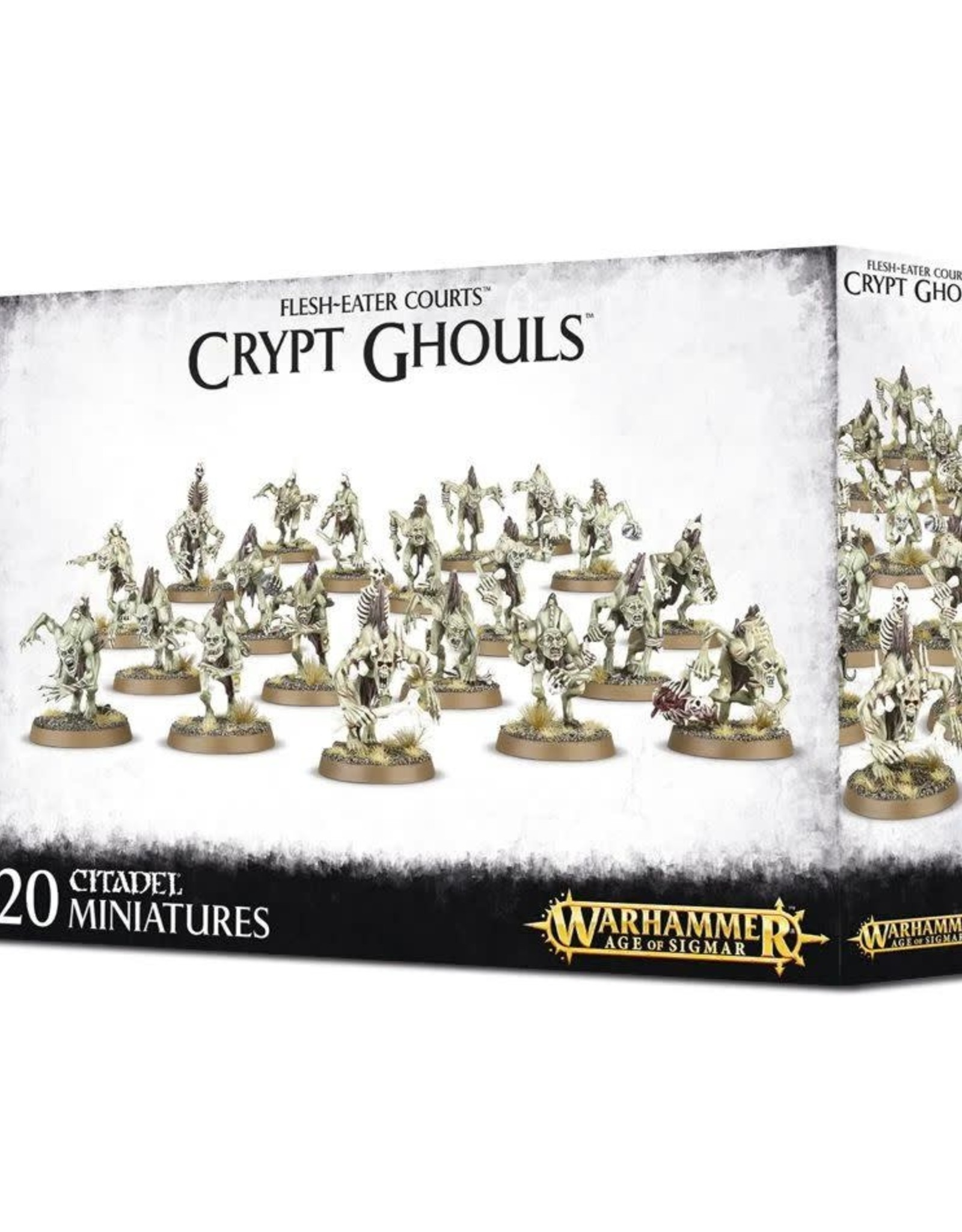 Age of Sigmar AoS - Flesh-Eater Courts Crypt Ghouls
