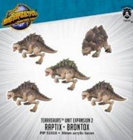 Monsterpocalypse Monsterpocalypse - Raptix & Brontox