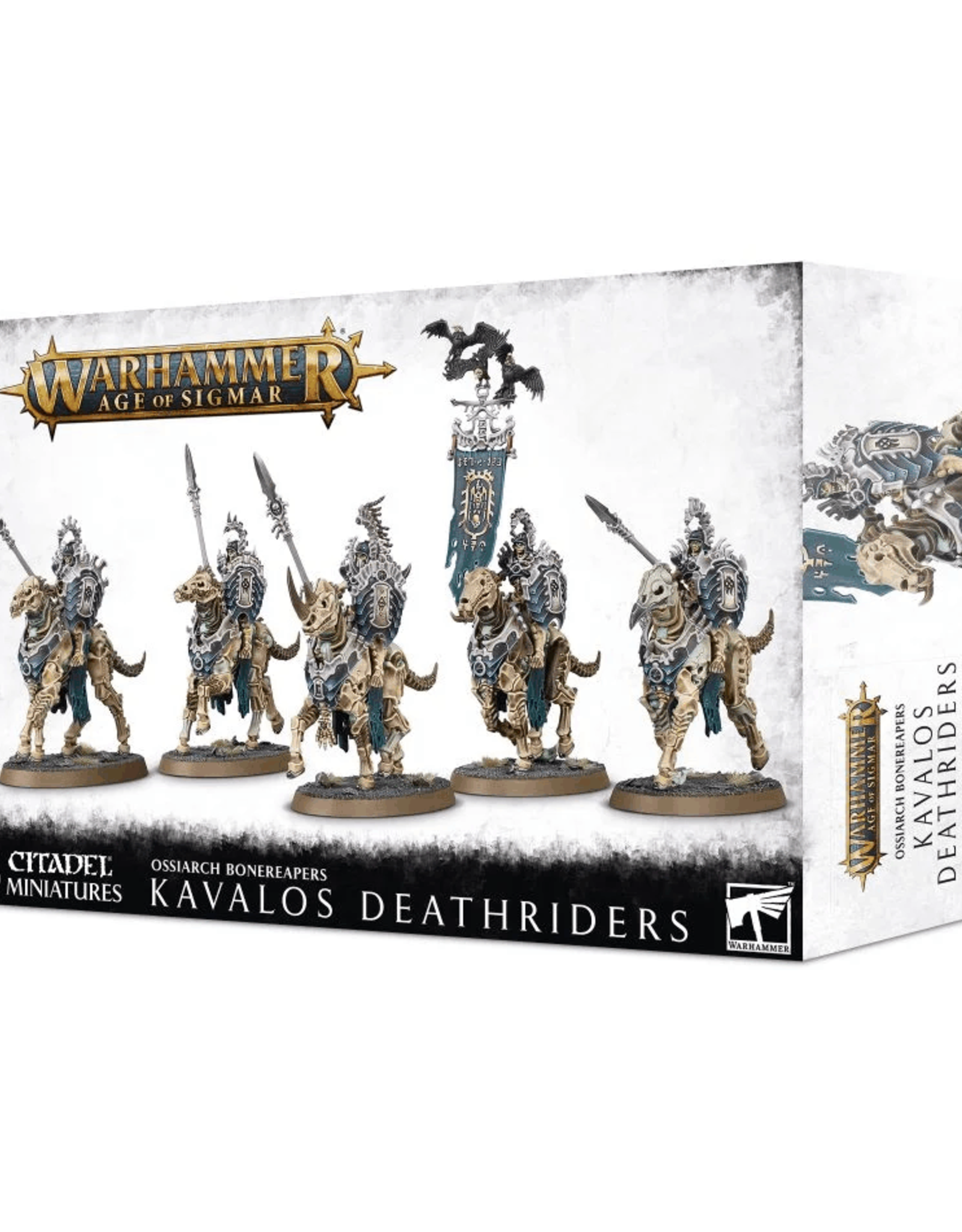 Age of Sigmar Ossiarch Bonereapers - Kavalos Deathriders