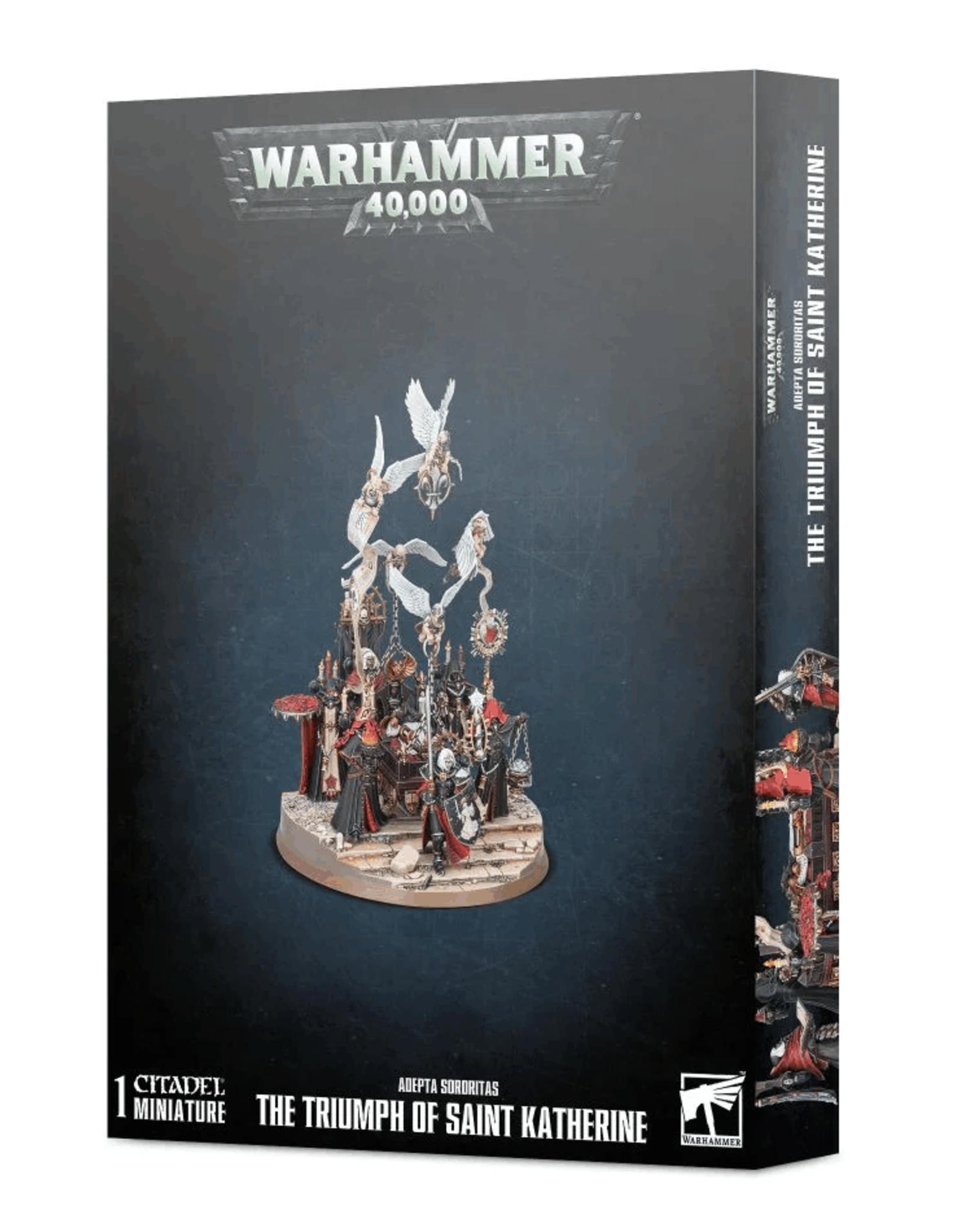 Warhammer 40k Adepta Sororitas - Triumph of St. Katherine