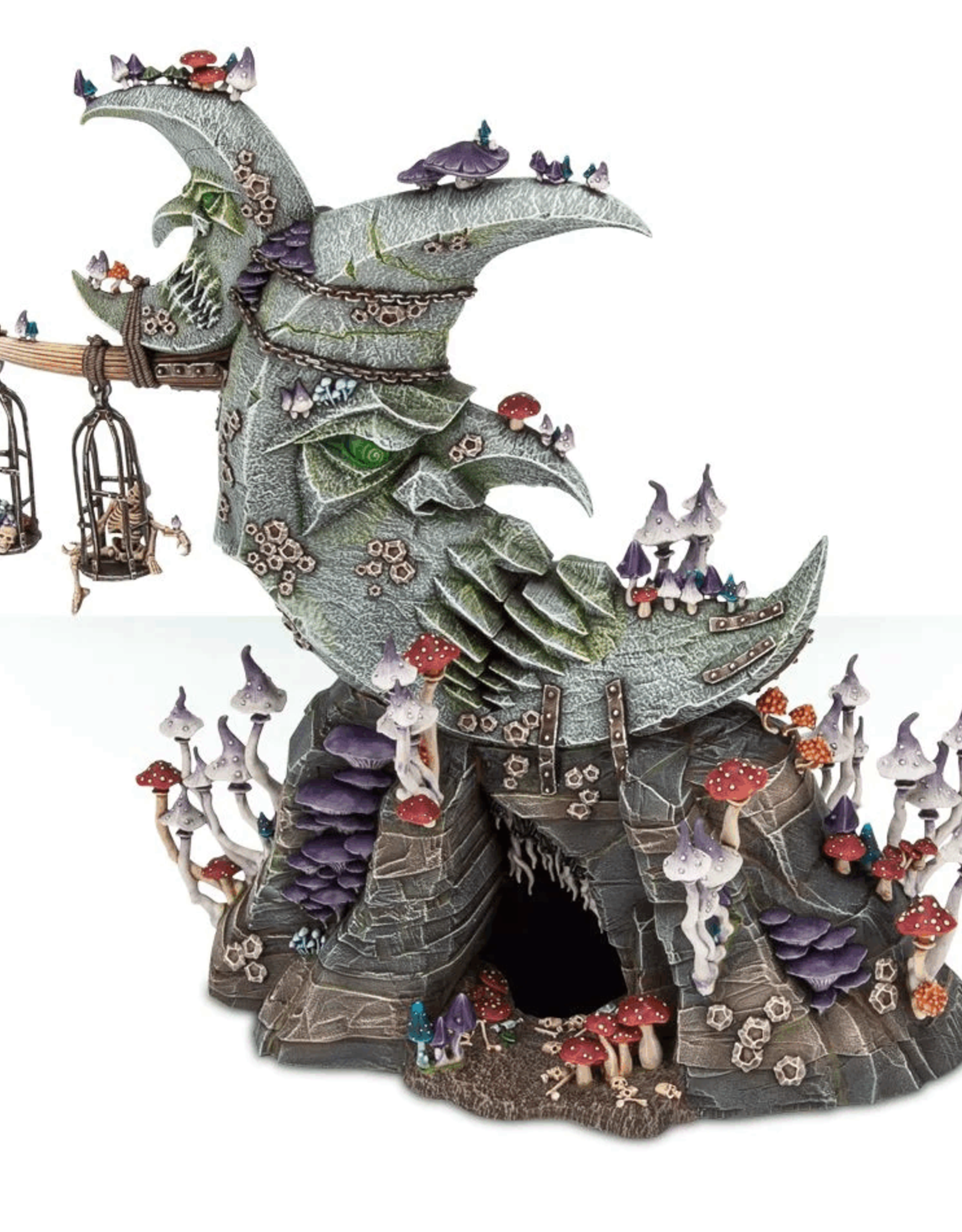 Age of Sigmar Gloomspite Glitz - Bad Moon Loonshrine