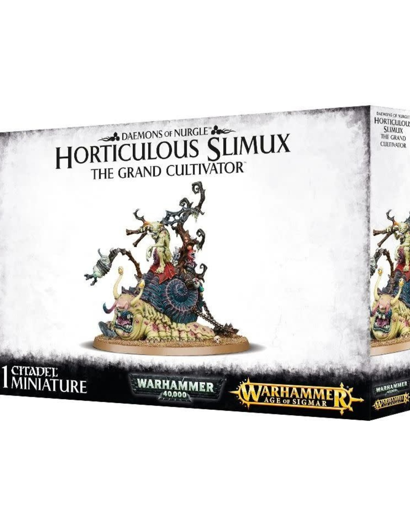 Age of Sigmar Chaos - Nurgle Horticulous Slimux