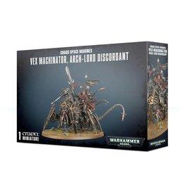 Warhammer 40k Vex Machinator, Arch-Lord Discordant