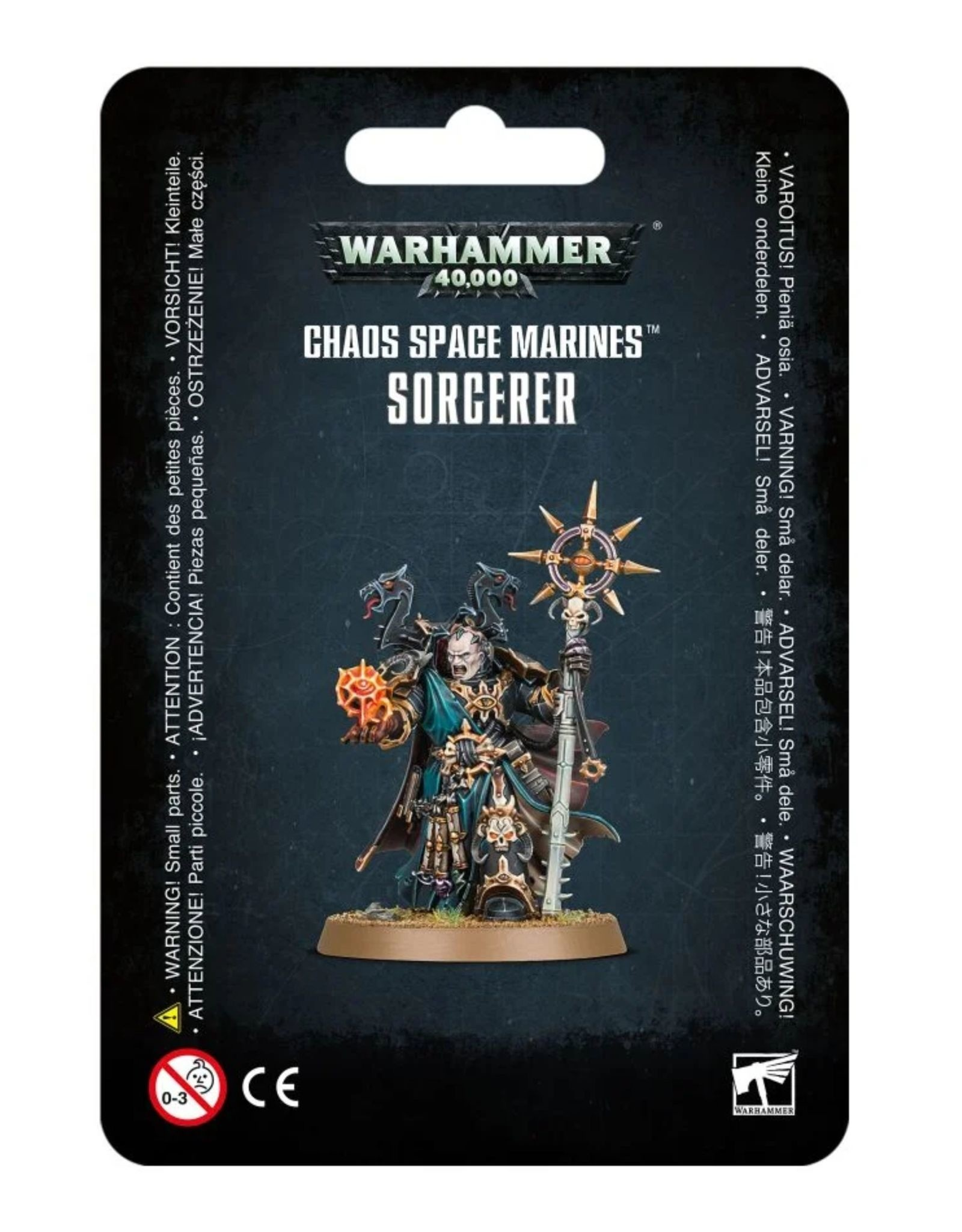 Warhammer 40k Chaos Space Marines Sorcerer