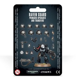 Warhammer 40k Space Marines - Raven Guard Upgrades