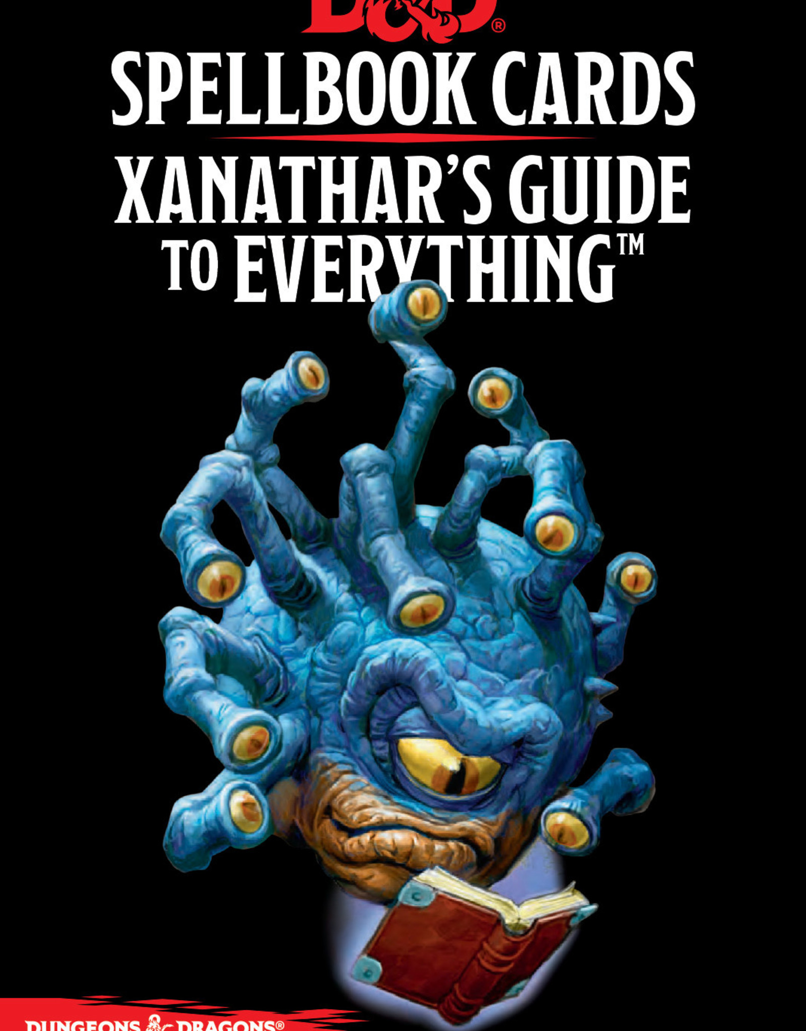 Spellbook  Cards Spellbook Cards - Xanathar's Guide to Everything