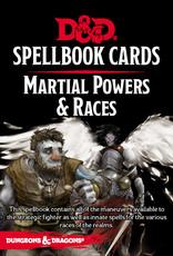 Spellbook  Cards SpellBook Cards - Martial Power