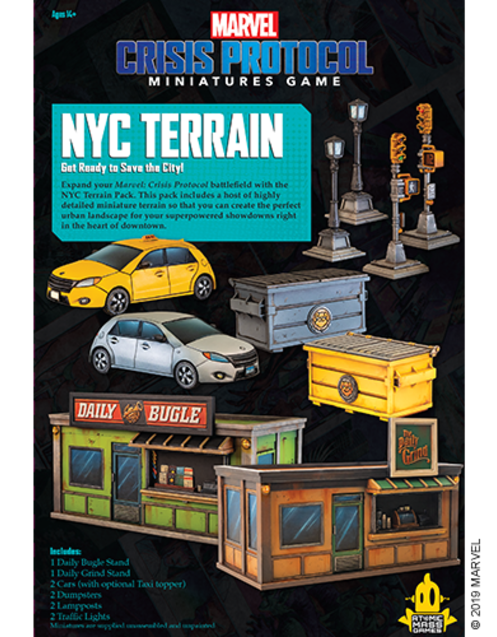 Crisis Protocol NYC Terrain Pack