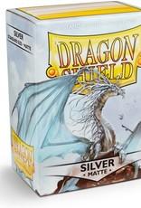 Dragon Shield Silver - Matte