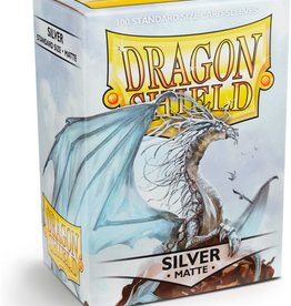 Dragon Shield Silver - Matte