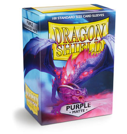 Dragon Shield Purple - Matte Non Glare