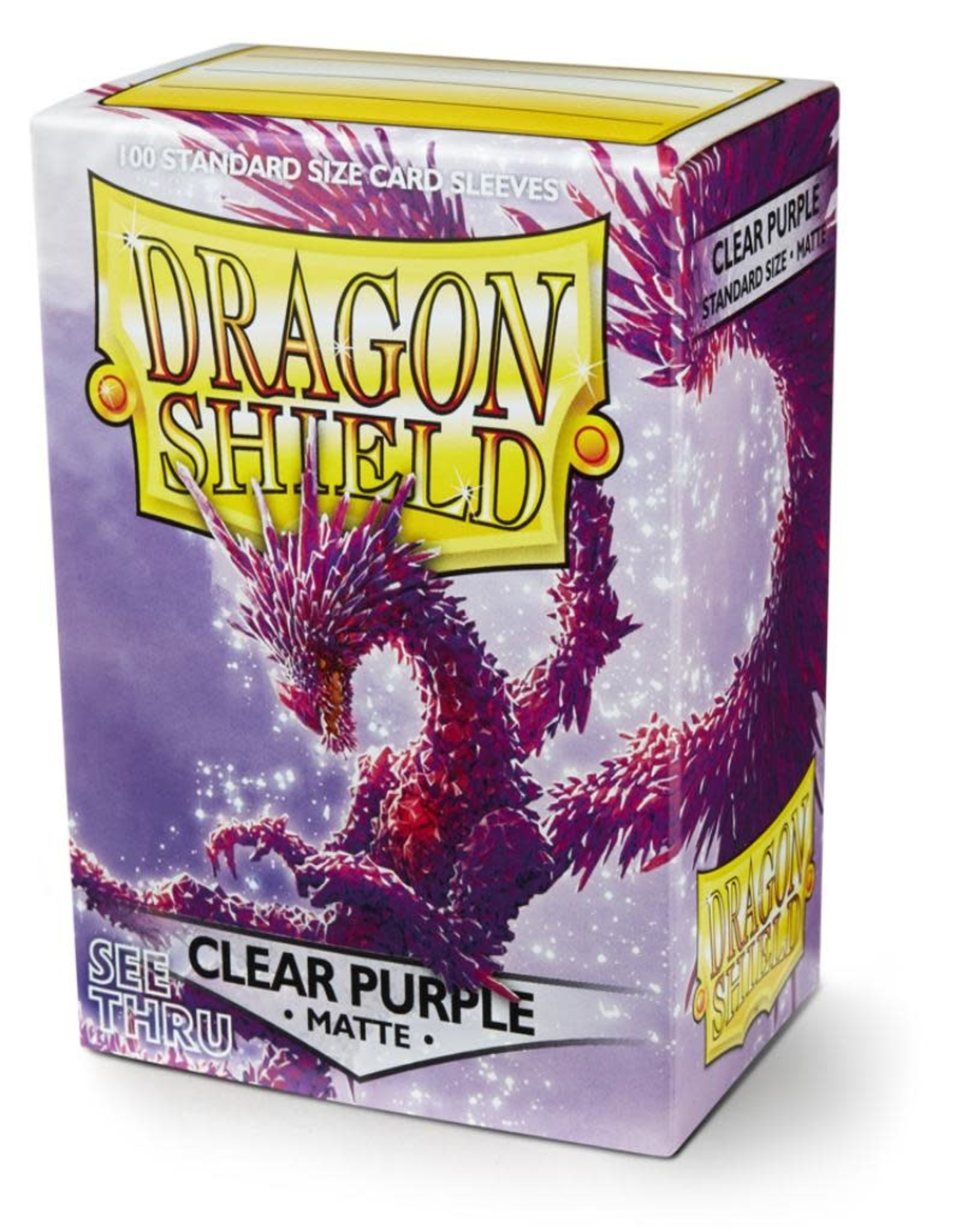 Dragon Shield Clear Purple - Matte