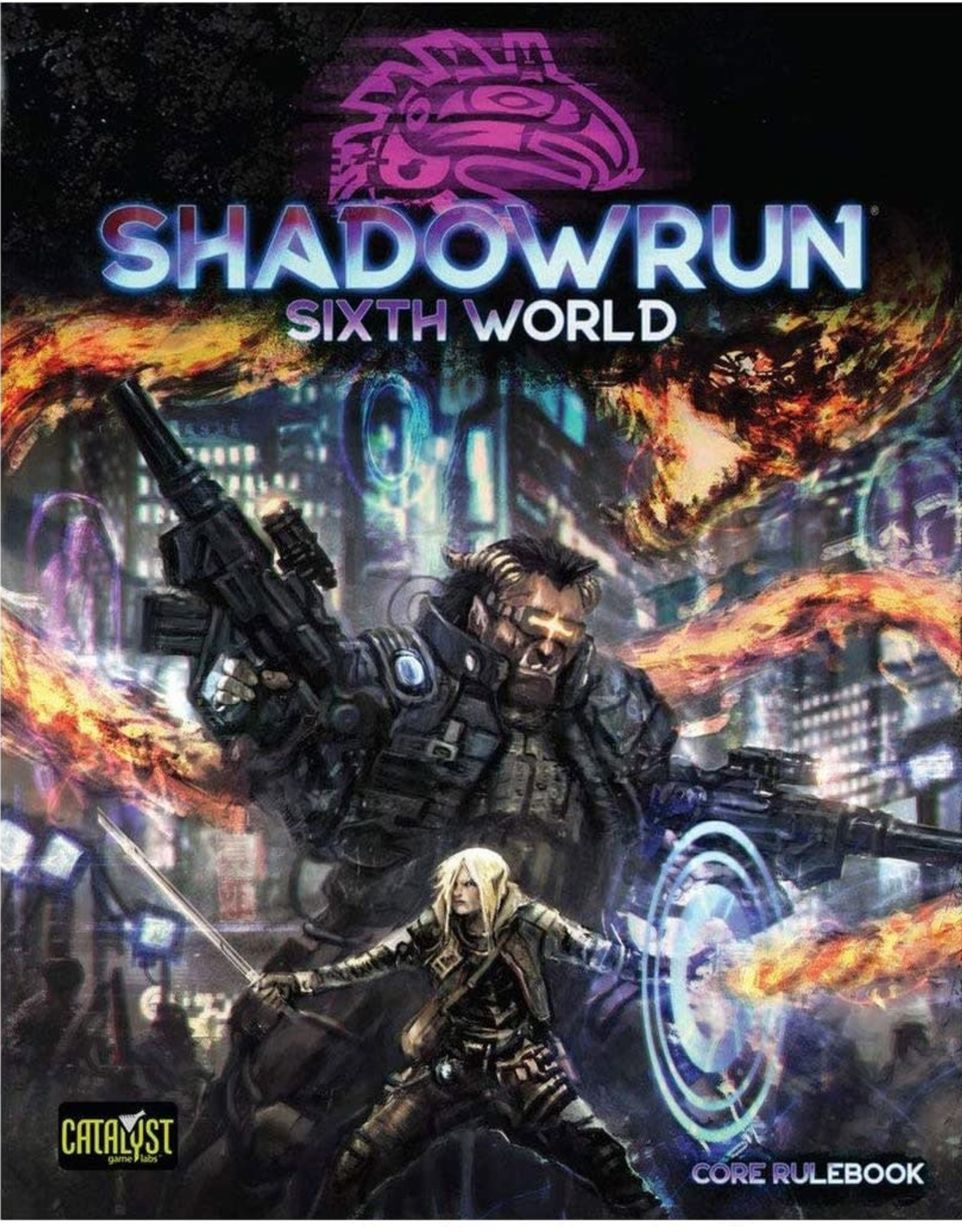 Shadowrun Shadowrun 6th Edition