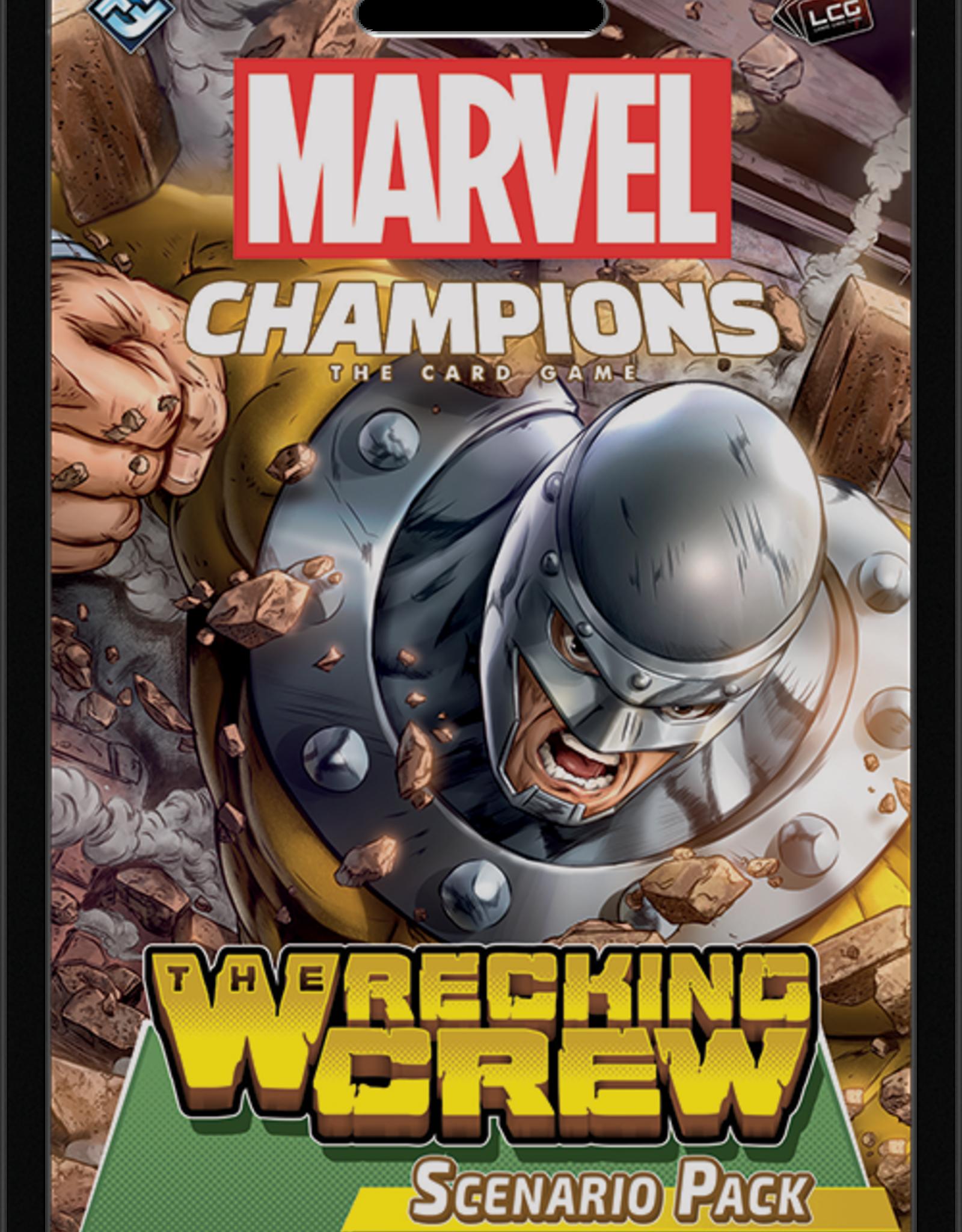 Marvel Champions LCG The Wrecking Crew Scenario