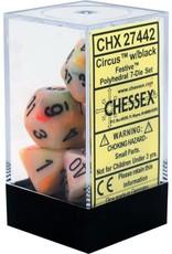 Chessex Festive Circus/black Polyhedral Set