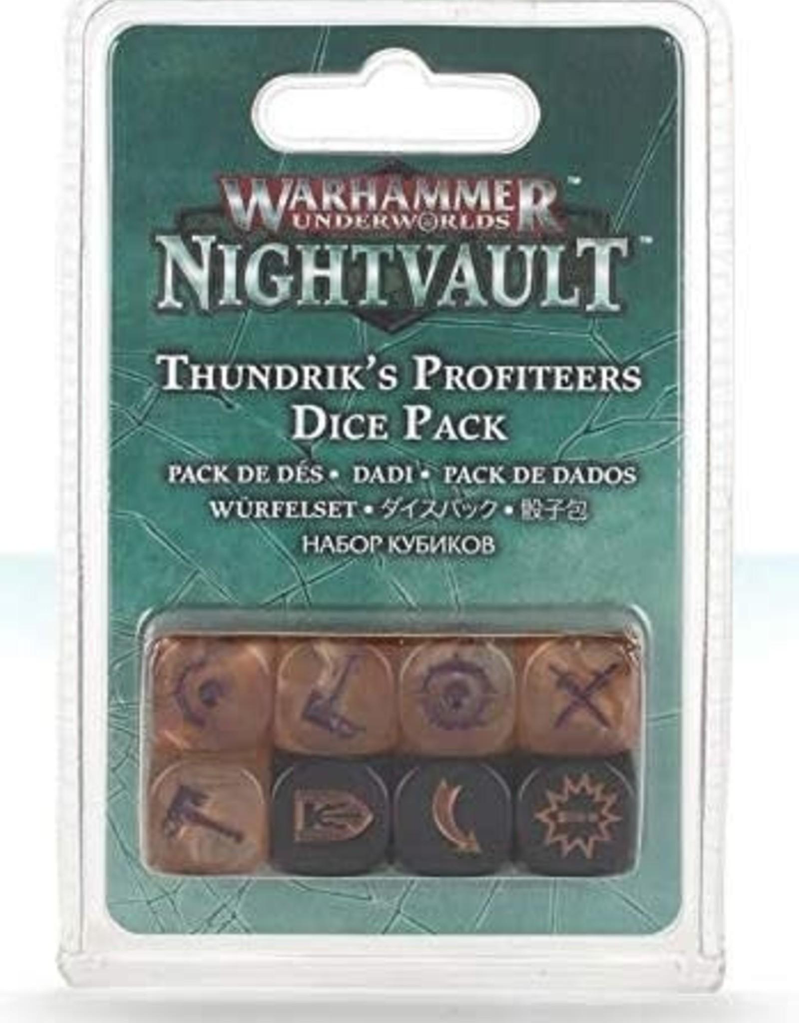 Warhammer Underworlds Underworlds - Thundrick's Profiteers Dice