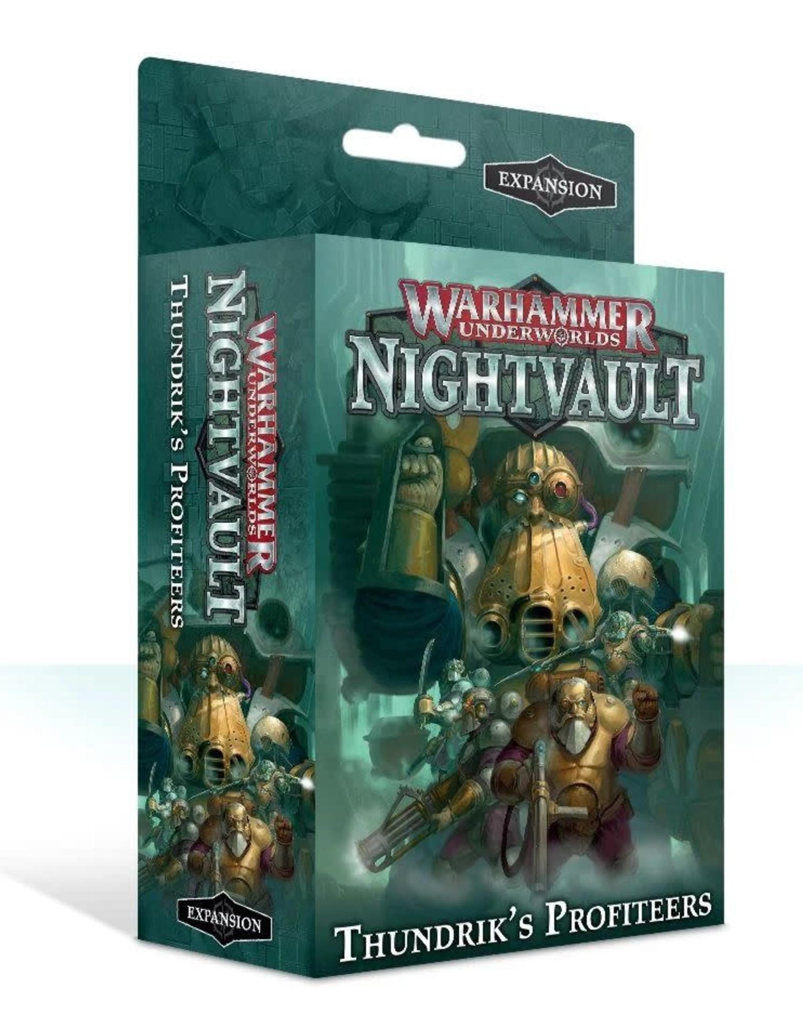 Warhammer Underworlds Underworlds - Nightvault - Thundrick's Profiteers