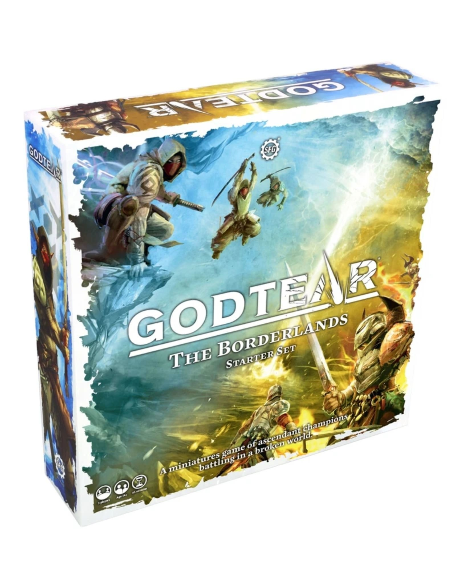 Godtear Godtear: The Borderlands Starter