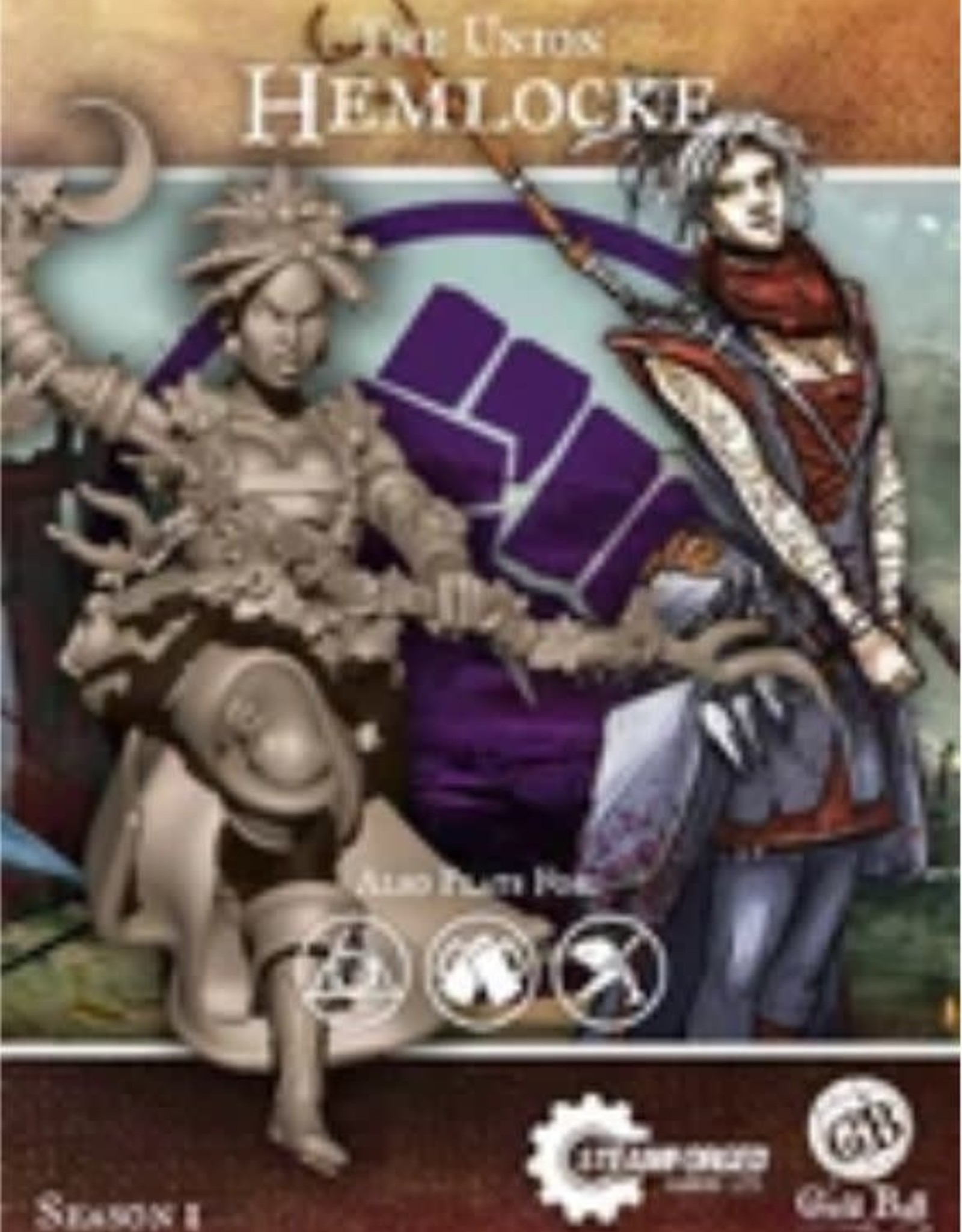 Guild Ball Union: Hemlocke