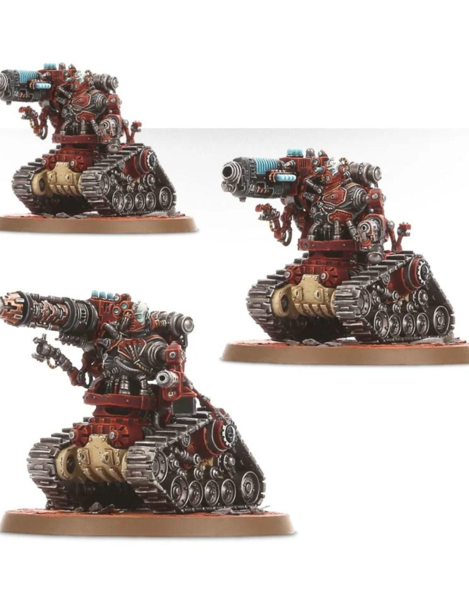 Warhammer 40k Adeptus Mechanicus - Kataphron Battle Servitors