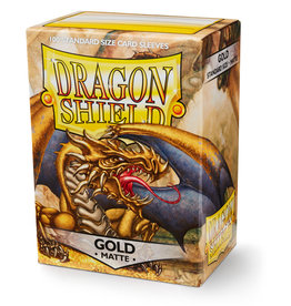Dragon Shield Gold - Matte