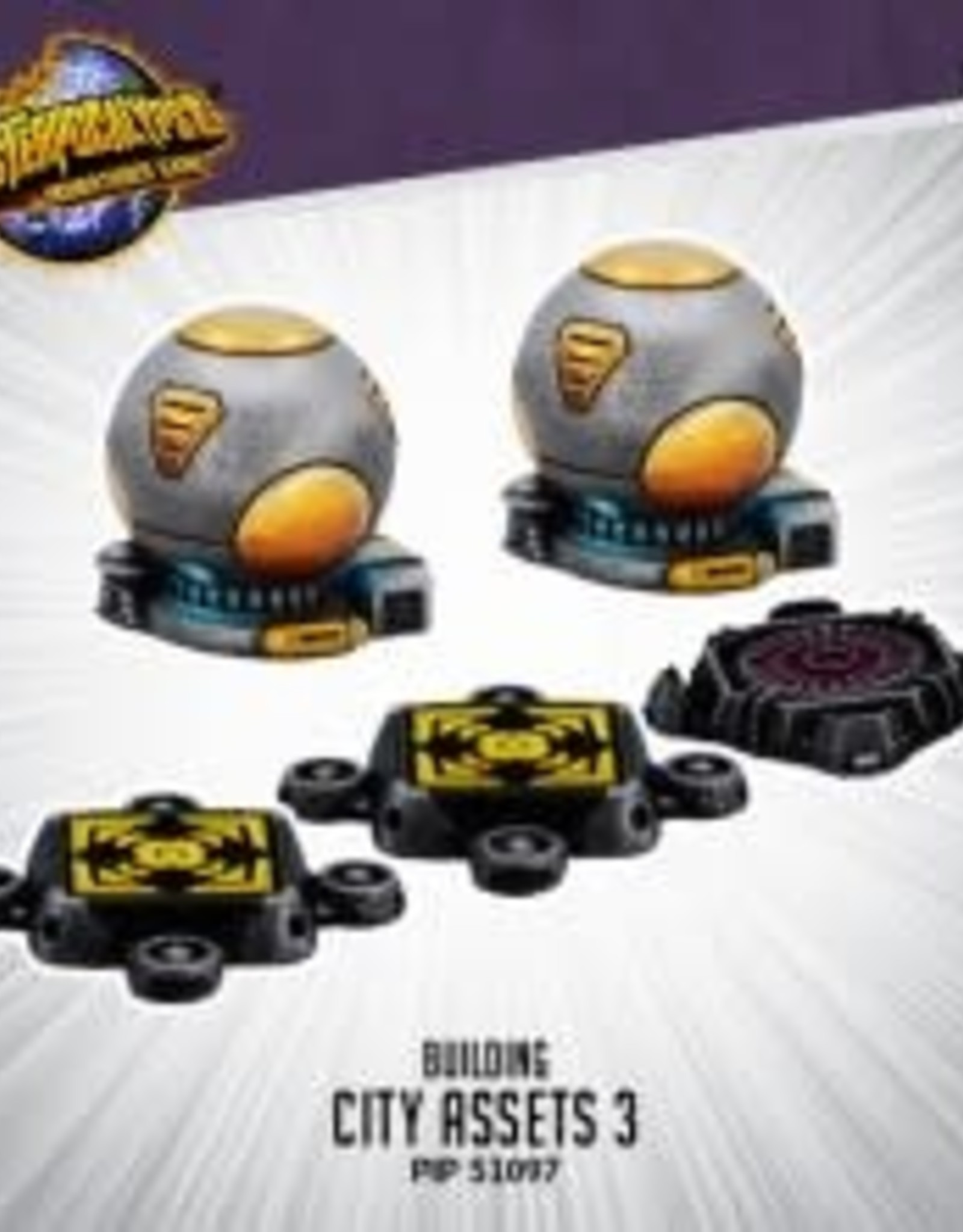 Monsterpocalypse Monsterpocalypse - City Assets 3