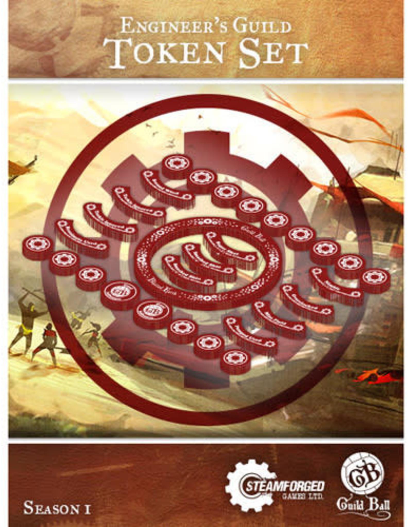 Guild Ball GB - Engineers Guild Token Set