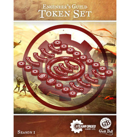 Guild Ball GB - Engineers Guild Token Set
