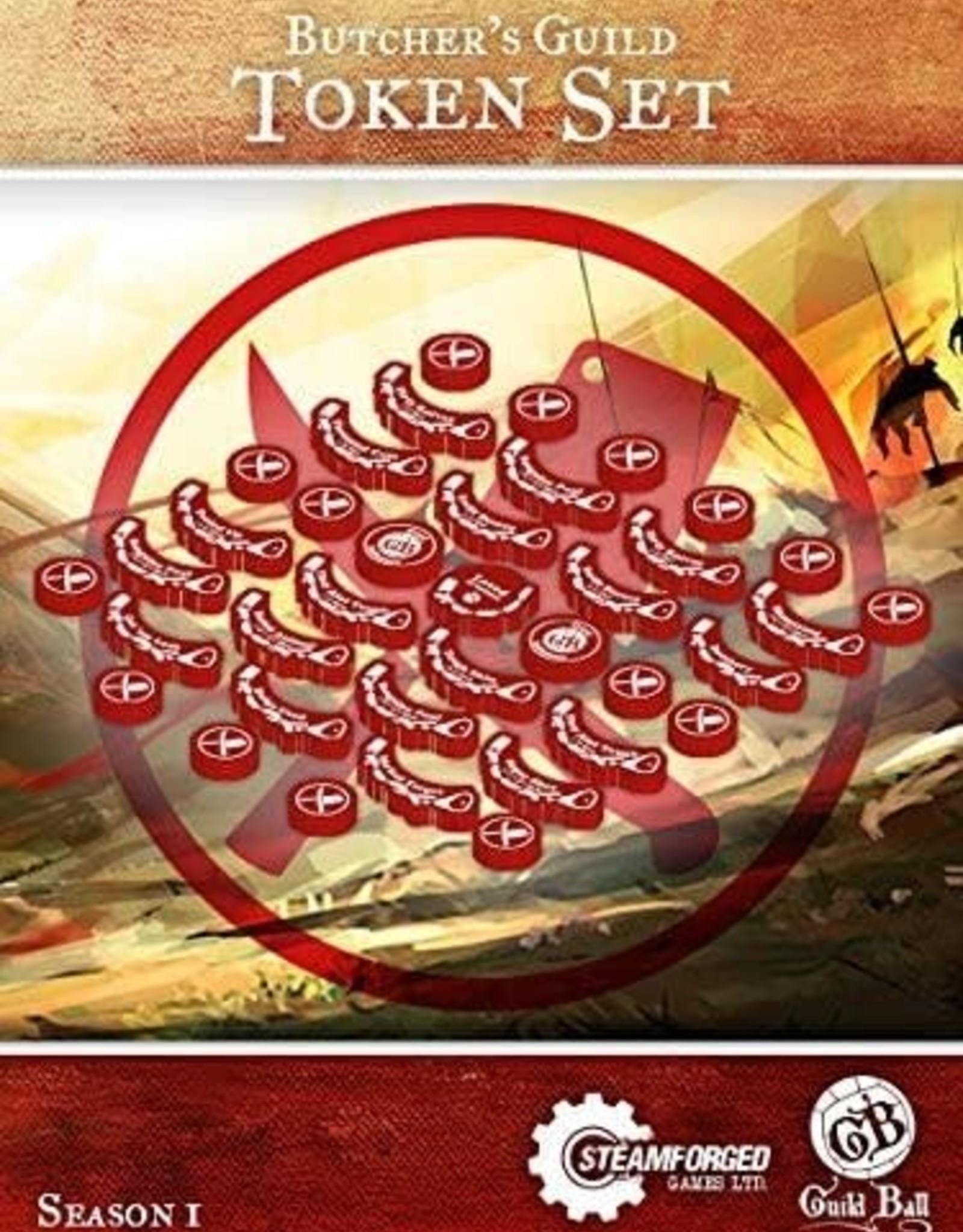 Guild Ball GB - Butcher's Guild Token Set