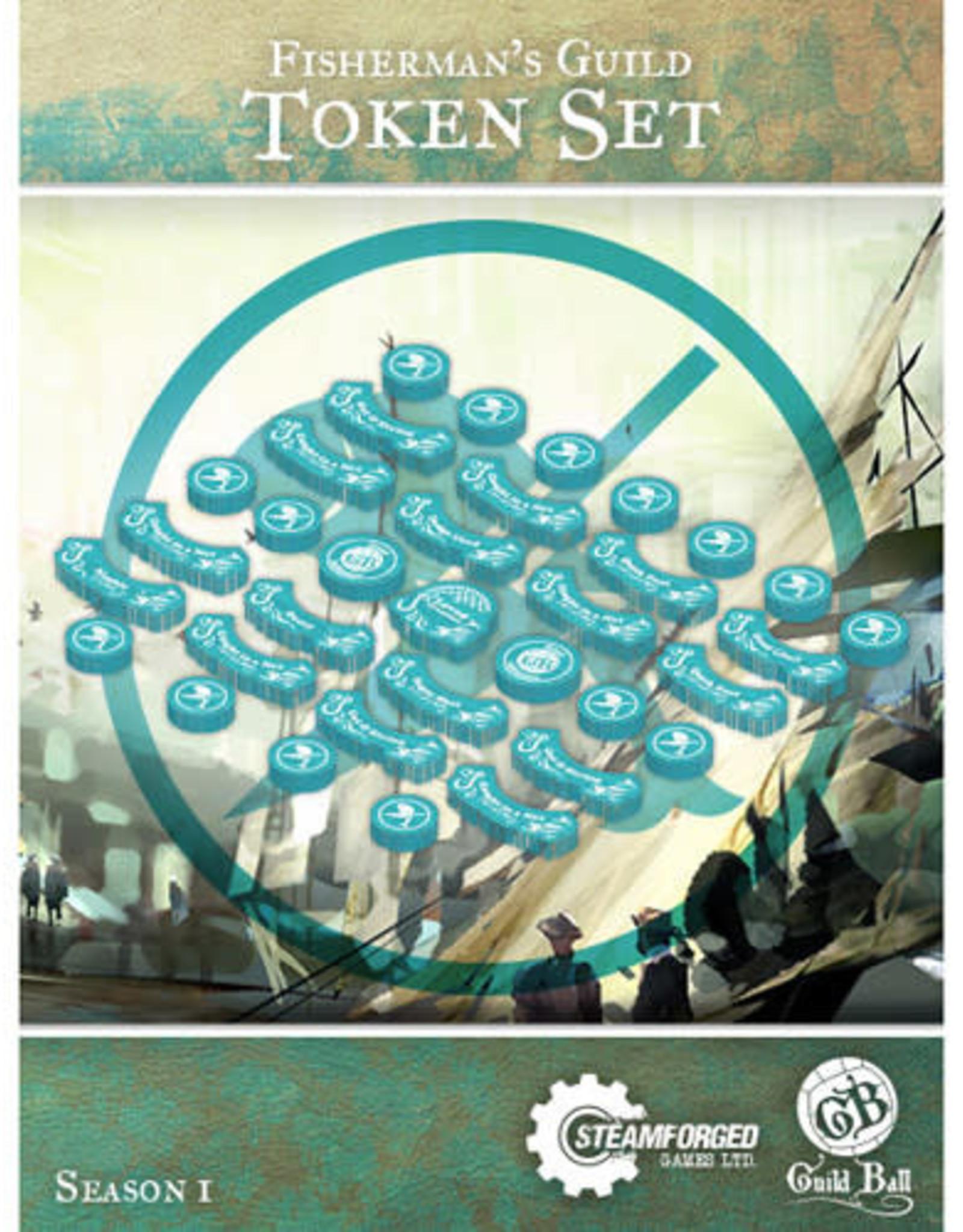 Guild Ball GB - Fisherman Guild Token Set