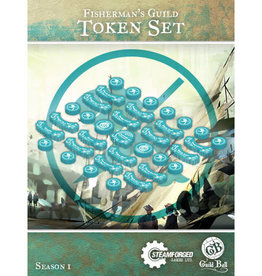 Guild Ball GB - Fisherman Guild Token Set