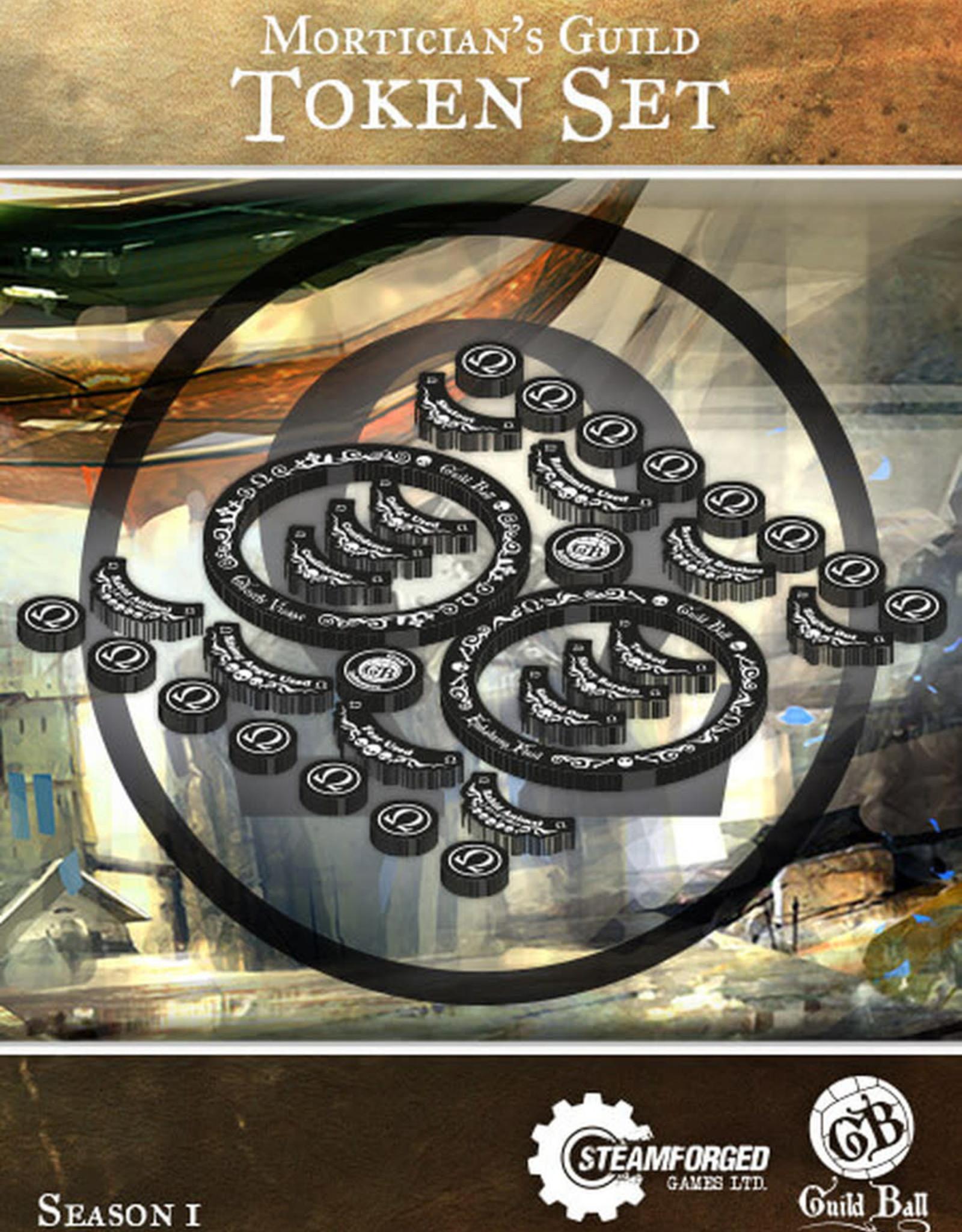 Guild Ball GB - Mortician's Guild Token Set