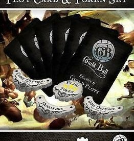 Guild Ball GB - Plot Cards & Tokens Season 2