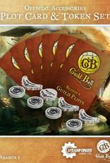 Guild Ball GB - Plot Cards & Tokens Season 1