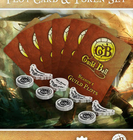 Guild Ball GB - Plot Cards & Tokens Season 1